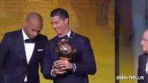 Cristiano Ronaldo vince il Pallone d'Oro 2014