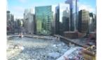 Chicago River ghiacciato, il fantastico timelapse