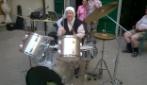 la madre alla batteria
