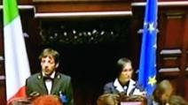 Votazione Presidente della Repubblica: primo voto per Giancarlo Magalli