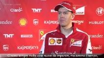 """Ferrari, Vettel: """"La vettura è bellissima, non vedo l'ora"""""""