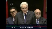"""Il discorso del neo Capo dello Stato Mattarella: """"Garantire la Costituzione significa anche ricordare la Resistenza"""""""