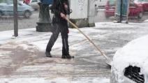 """""""Big Snow"""" arriva a Torino. Città imbiancata, disagi alla circolazione"""