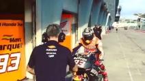 Test Sepang, Marquez e Pedrosa al lavoro con moto differenti