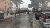 Maltempo in Emilia, disagi e allagamenti a Meldola: il fiume è in piena