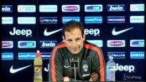 """Juventus, Allegri: """"Il campionato non è finito"""""""