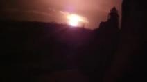 Ucraina, impressionante esplosione a Donetsk
