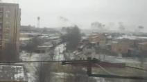 Ucraina orientale, missili sulla città di Краматорск
