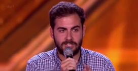 """Andrea Faustini canta """"I Didn't Know My Own Strength"""" a X Factor Uk 2014"""