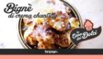 La ricetta golosa del Bignè alla crema Chantilly