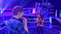 """Cantano """"Say something"""", la performance a The Voice Kids emoziona pubblico e giudici"""