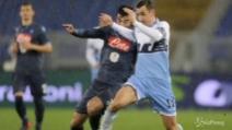 Coppa Italia, semifinale: all'Olimpico il Napoli strappa un pari alla Lazio (1-1)