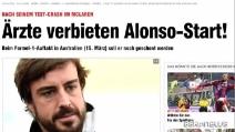 Alonso, è giallo: avrebbe perso la memoria