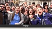 Napoli, in migliaia per Papa Francesco