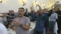 """""""Oh mamma mamma mamma"""", il coro dei detenuti per Papa Francesco"""