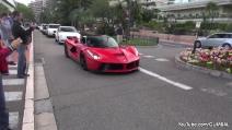 Ferrari LaFerrari: accelerazione da brividi a Montecarlo