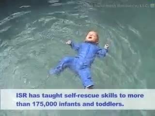 Il bambino cade nella piscina: quello che succede dopo vi sorprenderà