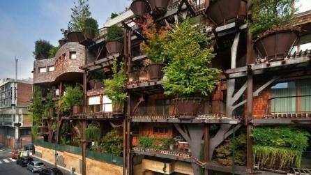 Torino la casa sull albero restando in citt - Casa sull albero progetto ...