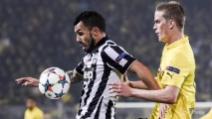 Tevez (doppietta) e Morata portano la Juve ai quarti di Champions