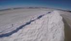 """L'affascinante fenomeno delle """"onde di ghiaccio"""""""
