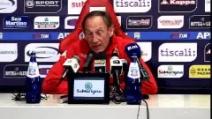 """Cagliari, Zeman: """"Contro il Milan dobbiamo dare il massimo"""""""