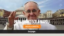 Papa Francesco a Napoli. L'abbraccio di Scampia