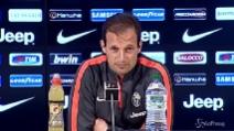 """Allegri: """"Due terzi di scudetto con Empoli e Parma"""""""