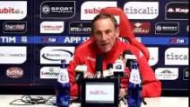 """Cagliari, Zeman: """"Contro la Lazio concentrazione e motivazione"""""""