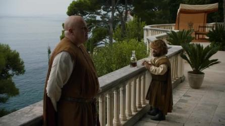 Game of Thrones 5 - Jon Snow e Mance   Varys e Tyrion a colloquio (sub ita)