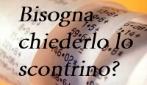 SCONTRINI: ITALIANI VS STRANIERI