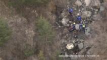 Tragedia Aibus A320, le immagini aeree diffuse dal ministero dell'interno