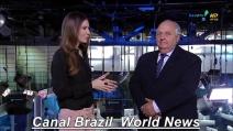 Non comprende il nome della giornalista, gaffe in diretta tv in Brasile