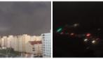 La tempesta di polvere che trasforma il cielo: dal giorno alla notte in pochi minuti