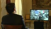Palazzo Chigi, Matteo Renzi chiama l'astronauta Cristoforetti