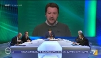 """Omnibus, Salvini: """"Ho scritto zingari e mi hanno bloccato il profilo Facebook"""""""