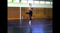 """Francesca Dugarte di """"Amici"""" balla sulle note di """"Il corsaro"""""""