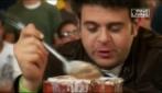 Man Vs Food, sfida con il gelato
