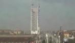 Torino, la costruzione del grattacielo in 84 secondi