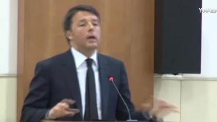 """Renzi: """"Speculare sui migranti fa perdere dignità alla politica"""""""