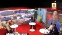 India, paura in tv durante il terremoto: gli assistenti di studio scappano