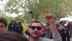 """Salvini filma i suoi contestatori: """"La soluzione per certa gente? La ruspa"""""""