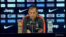 """Juventus, Allegri: """"Contro la Lazio sfida scudetto"""""""