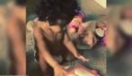 Chris Brown posta su Instagram il video di sua figlia Royalty che gioca