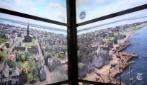 Attraversare 515 anni di storia salendo sull'ascensore del World Trade Center