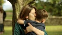 Dai un bacio a mamma!