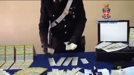 Trovata una stamperia clandestina di gratta e vinci falsi ad Arzano