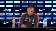 """Allegri: """"Battiamo la Fiorentina e vinciamo lo scudetto"""""""