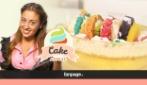 Come preparare la Torta Arcobaleno, coloratissima e piena di frutta