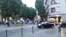 I primi caroselli in strada, la festa dei tifosi bianconeri
