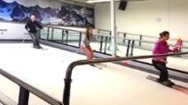 Imparare a sciare in palestra? Ora si può